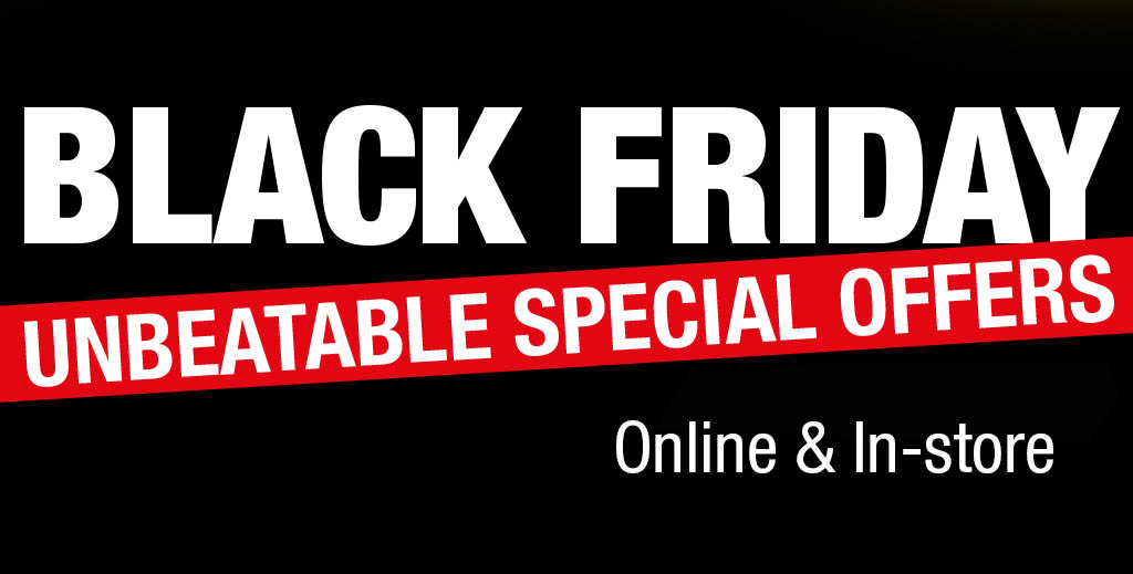 Black Friday on now