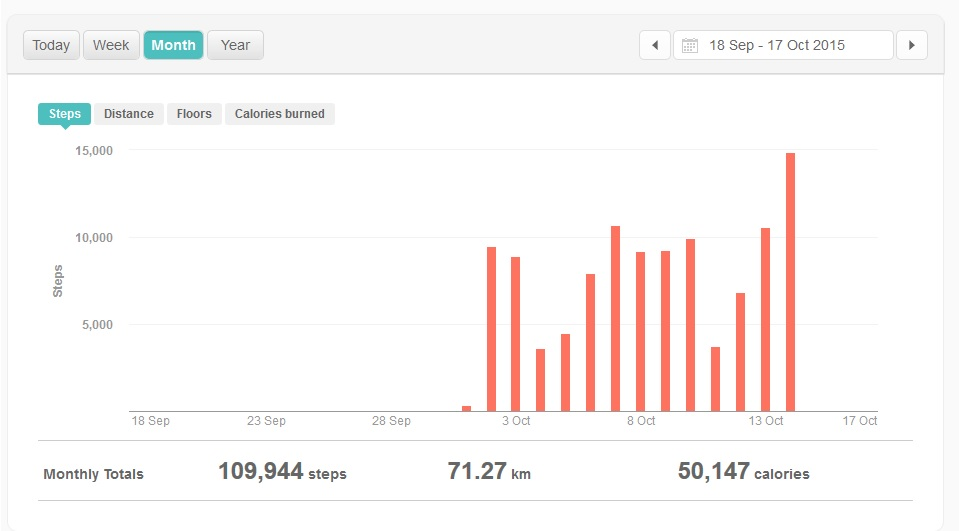 month steps