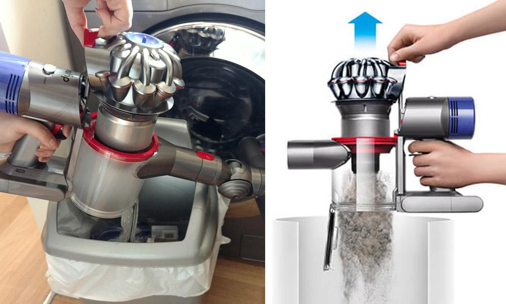 как можно мыть пылесос дайсон