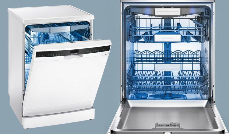 Win Siemens Sn258w06tg Iq500 Freestanding Dishwasher Hughes Blog