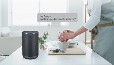 LG WK7 Google Assistant