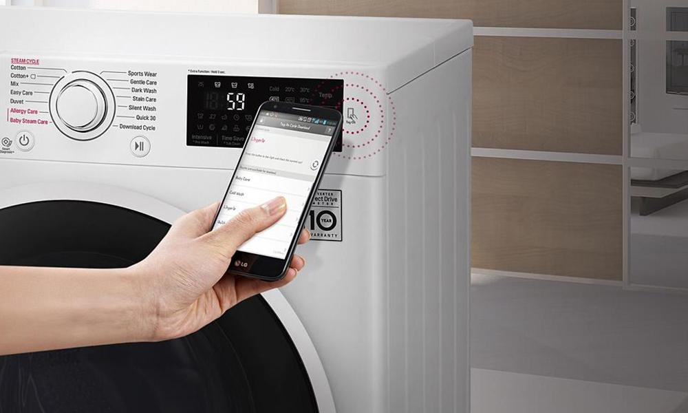 Review: LG F4J6JY1W Steam Washing Machine - Hughes Blog