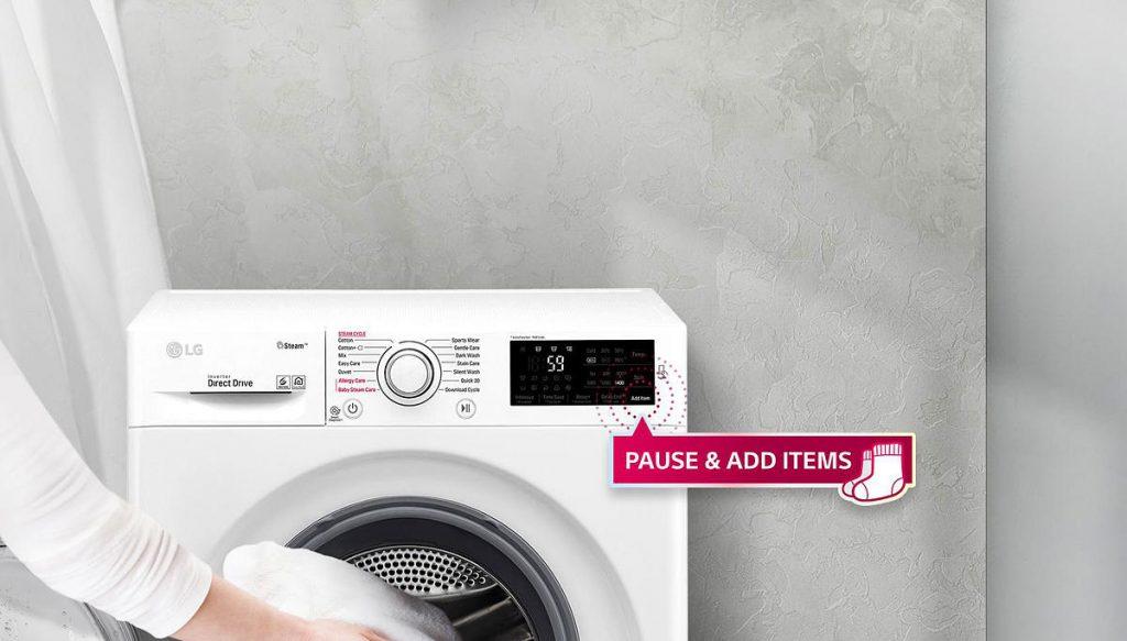 LG F4J6JY1W Add Items