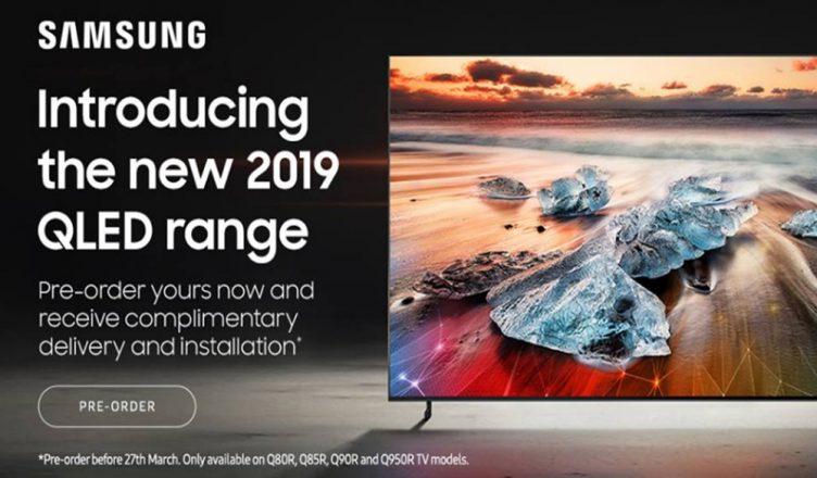 Samsung QLED 2019 promo