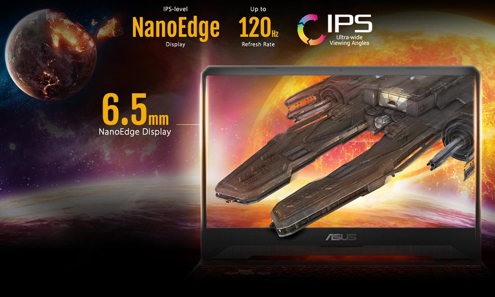 ASUS FX505DY nanoedge info