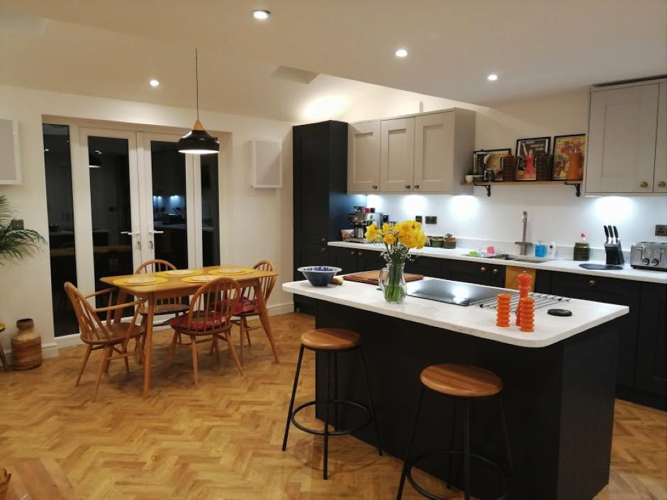 smart home finished result