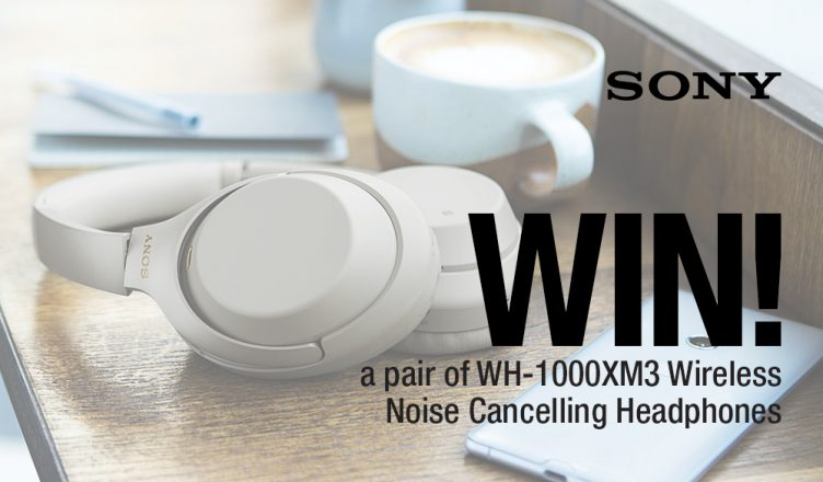 WIN: Sony WH1000XM3 Noise Cancelling Wireless Headphones