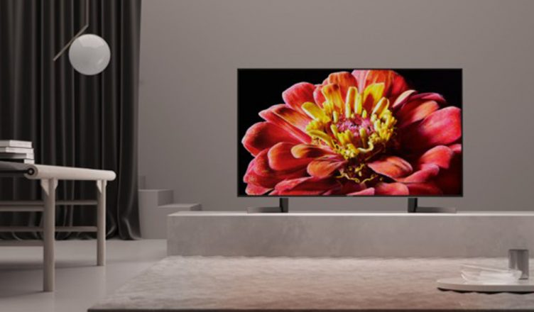 Sony XG90 adds to the atmosphere in a lovely living room set up
