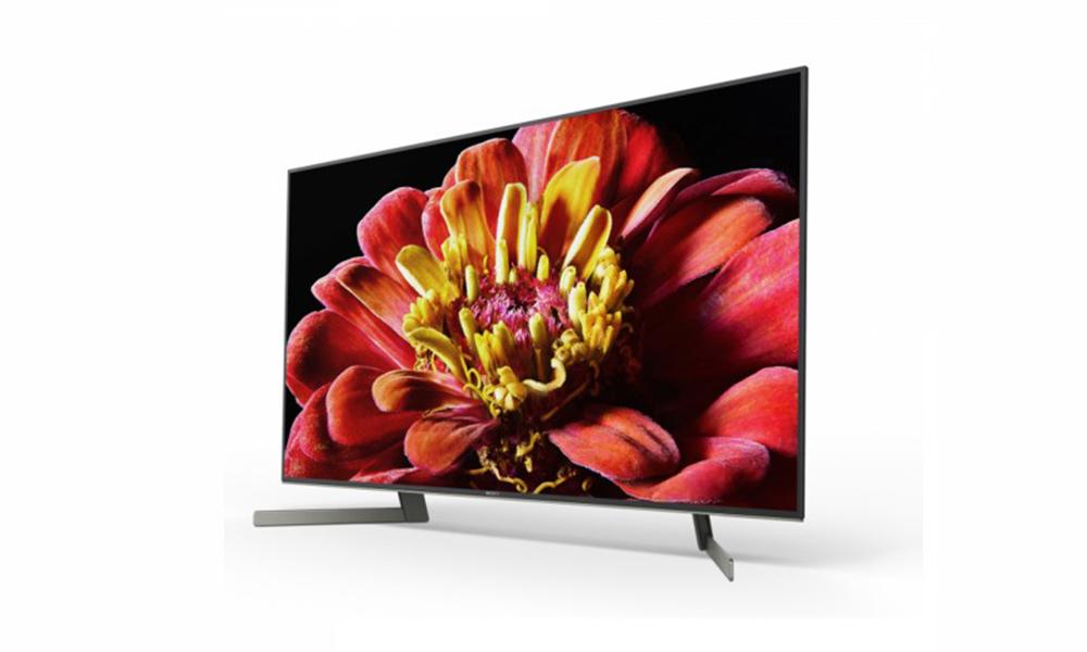 Sony XG9005BU TV stock image.