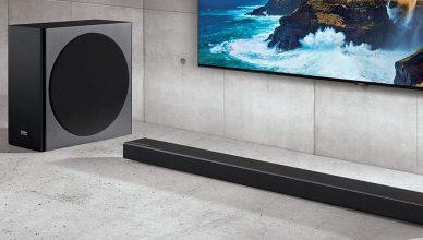 Samsung HWQ70R soundbar setup
