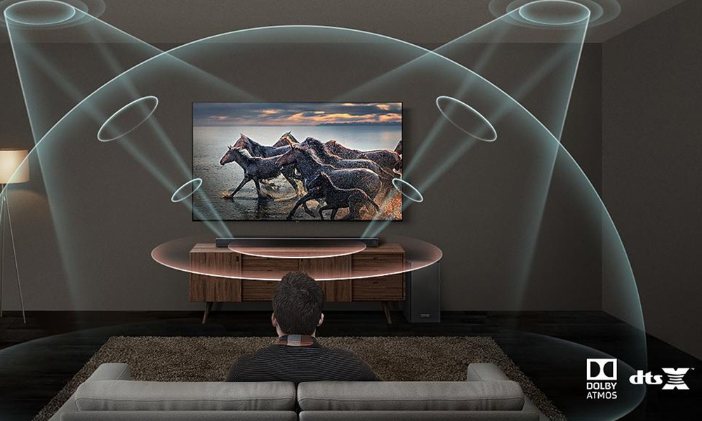 Samsung HWQ70R Surround sound soundbar