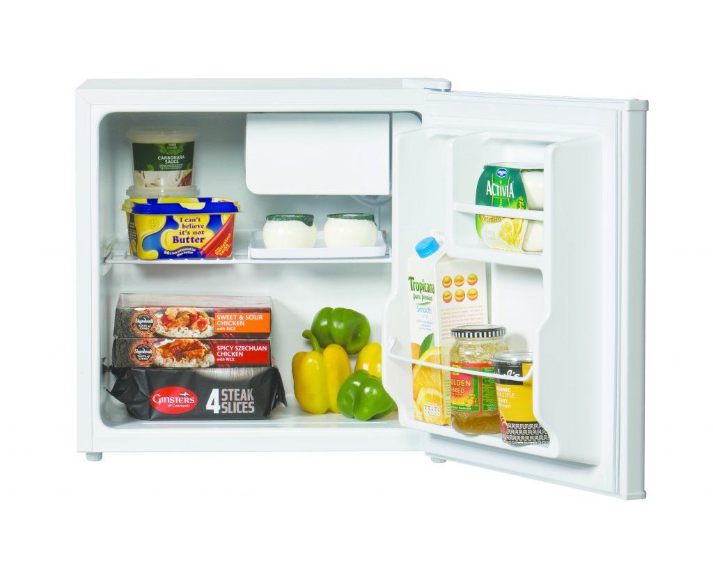 open Lec table top fridge