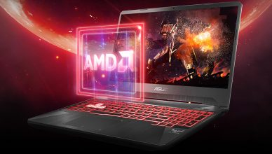 ASUS FX505DY AMD processor