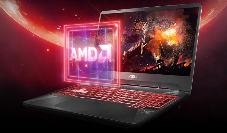 ASUS FX505DY AMD processor