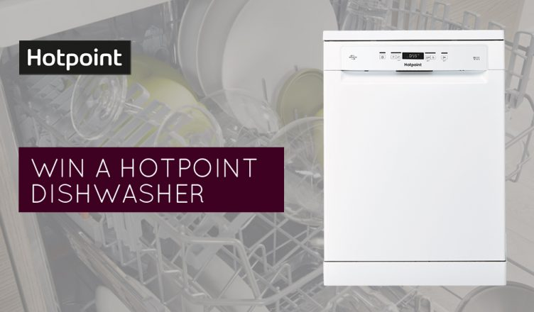 Hotpoint dishwasher competition banner
