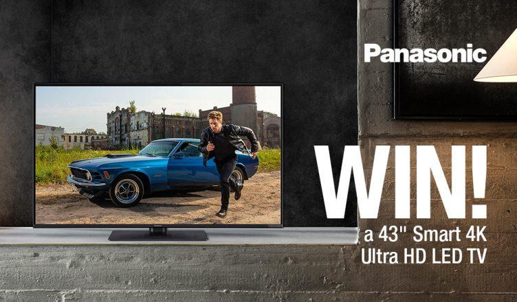 Panasonic TX43GX550B competition banner