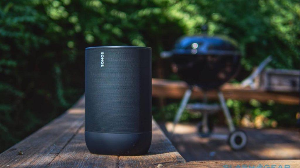 Sonos Move outside