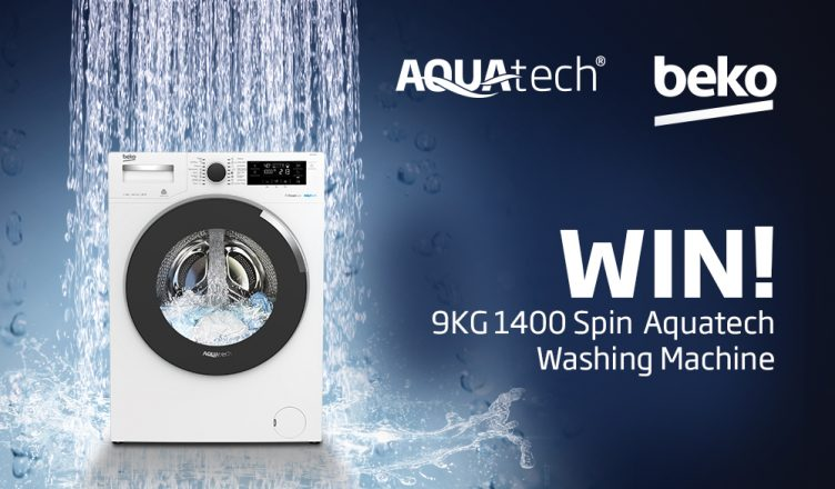 Beko AquaTech Washing Machine Competition Banner