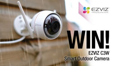 EZVIZ Smart Security Camera Prize draw