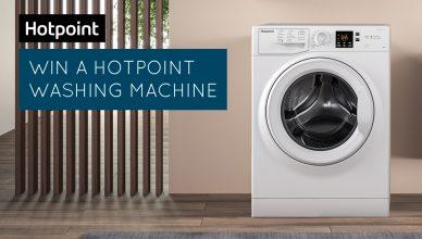 Hotpoint NSWF943CWUK washing machine prize draw