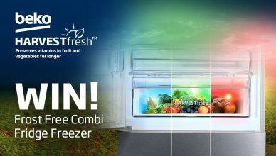 Beko HarvestFresh Fridge Freezer Prize Draw