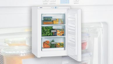 Liebherr upright freezer review