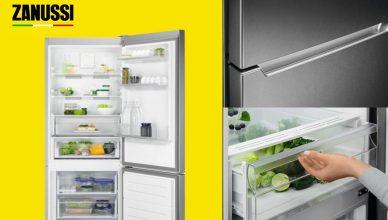 Zanussi ZNME32FU0 Fridge Freezer