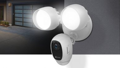 EZVIZ LC1C Smart Security Camera with Floodlights