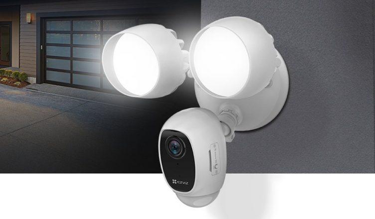 EZVIZ LC1C Smart Security Camera with Floodlights