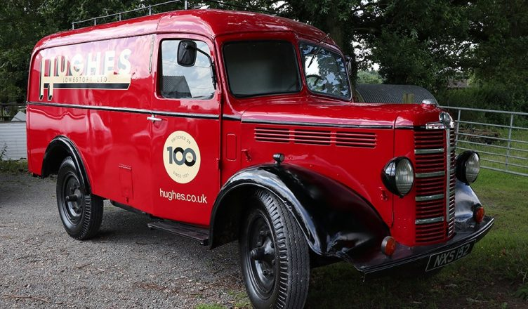 Hughes Van Tour