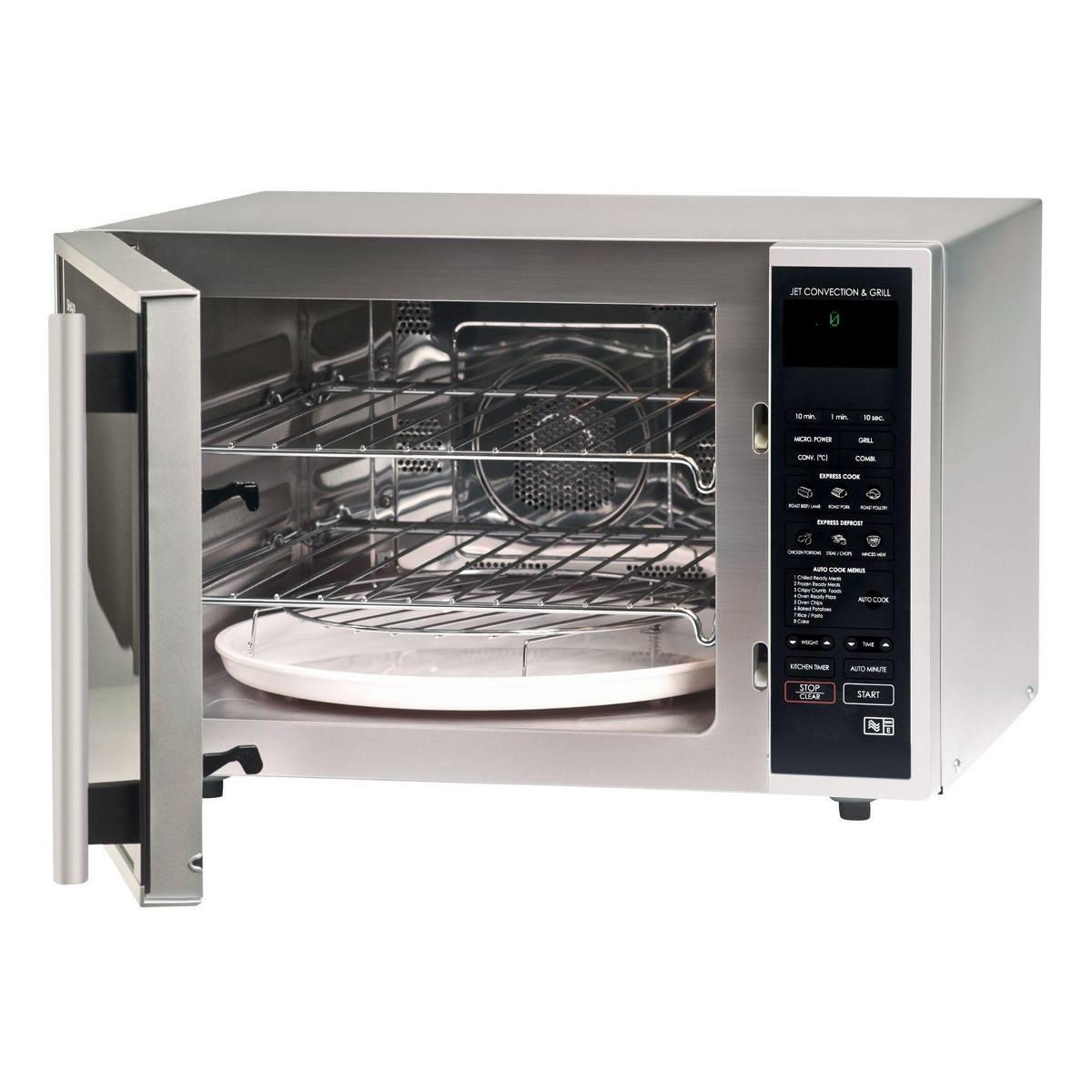 Sharp R959slmaa 40l 900w Combination Microwave Hughes Trade