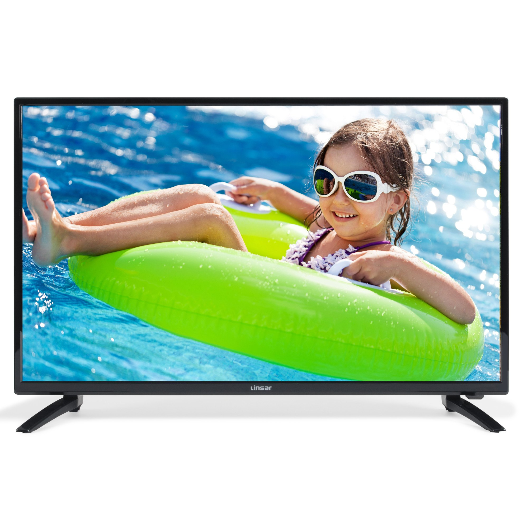 """Linsar 40DVD400 40"""" HD Ready LED TV with Built In DVD Player"""