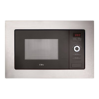 VM550SS Built-In 700W 17L Microwave Oven - Stainless Steel
