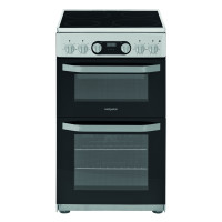 HD5V93CCSSUK Electric Cooker with Ceramic Hob - Stainless Steel