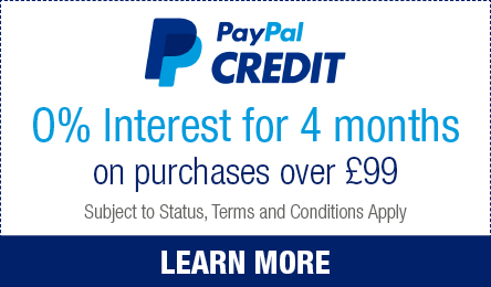 Spend £99 or more and enjoy 0% interest for 4 months on your purchase.