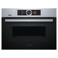 Serie 8 CMG656BS6B Single Oven with Home Connect