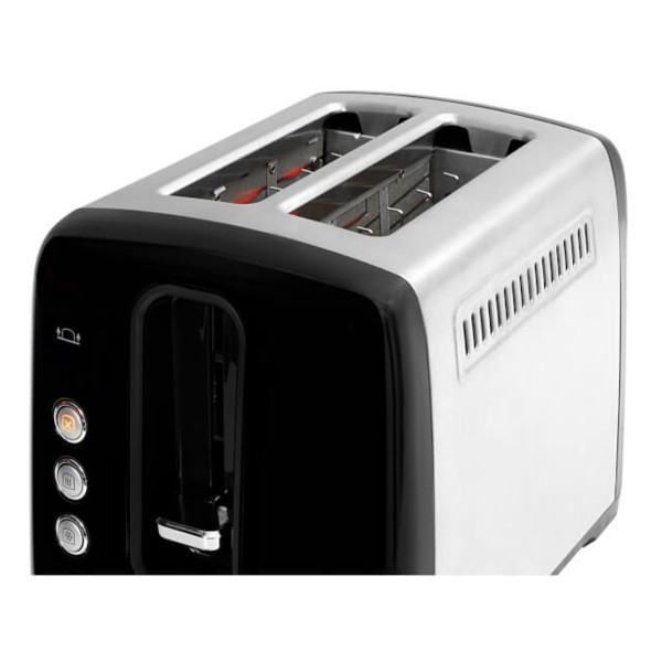 Compare cheap offers & prices of Beko TAM7201B Traditional 2 Slice Toaster in Black with Defrost Reheat and Cancel Functions manufactured by Beko