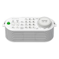 SRSLSR100 Wireless Handy TV Speaker with TV Controls and Headphone Port in White thumbnail