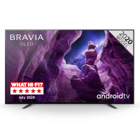 Image of BRAVIA KE55A8BU (2020) 55 inch OLED 4K HDR TV with Android TV