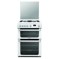 Hotpoint HUG61P Ultima Gas Cooker, White