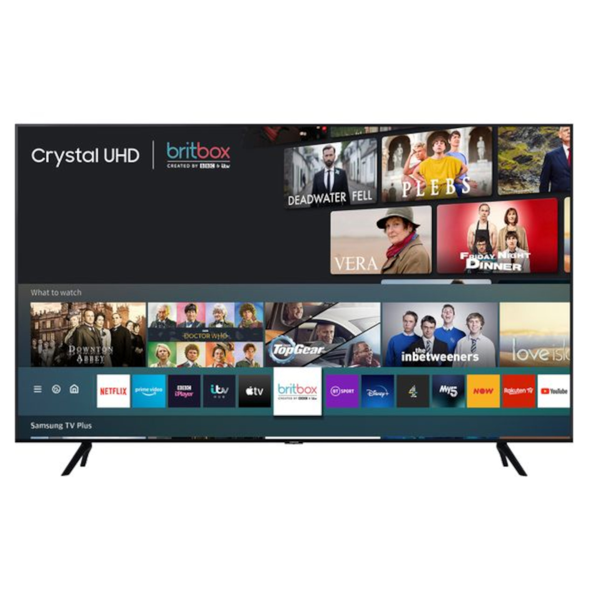 "Samsung UE43TU7020 43"" Smart 4K Ultra HD HDR LED TV"
