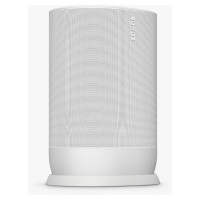 Image of SONOS Move Portable Wireless Multi-room Speaker with Google Assistant & Amazon Alexa - White