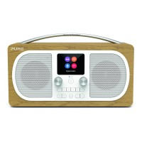 Evoke H6 Stereo DAB+FM Radio with Bluetooth - Oak