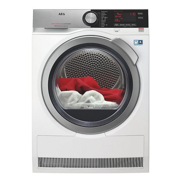 Compare prices for AEG T8DEC846R Freestanding Heat Pump Tumble Dryer with 8Kg Load Capacity and Energy Rating in White