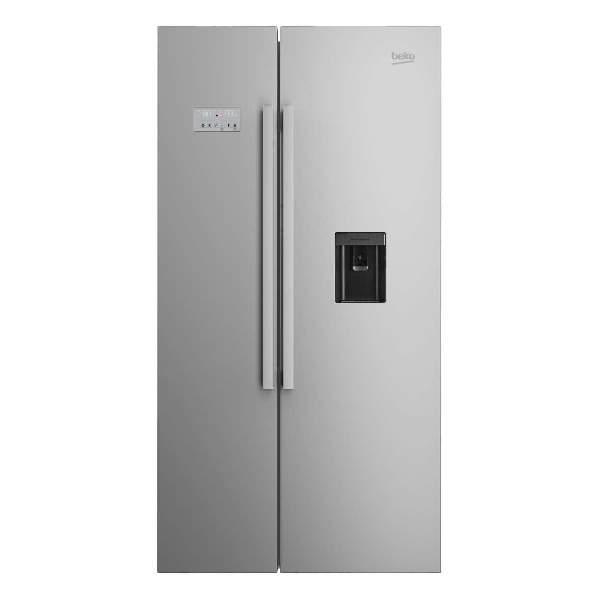 Beko ASD241X Fridge Freezer with 554 Litres Capacity and A+ Energy ...