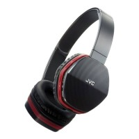 HASBT5RE Wireless Lightweight on Ear Headphones with Bluetooth in Red