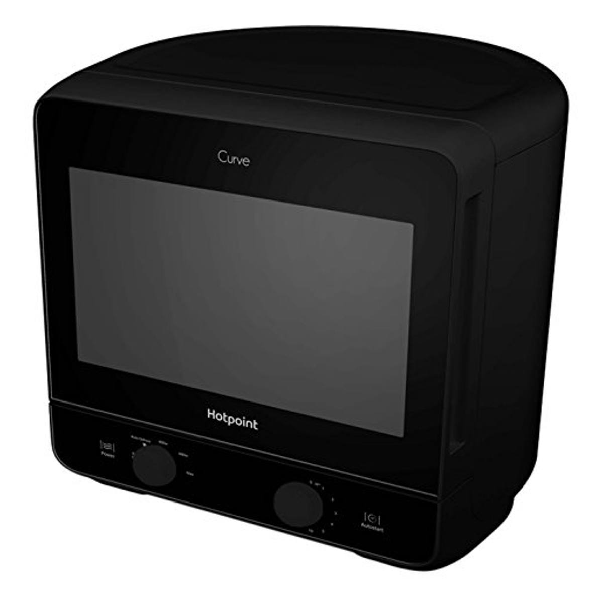 Range Style Cookers >> Hotpoint Curve MWH1311B 13L 700W Solo Microwave | Hughes