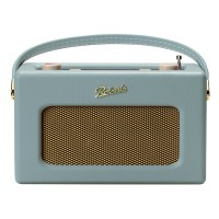 RD70 Portable DAB+/FM Retro Bluetooth Clock Radio with 20 Preset Stations in Duck Egg