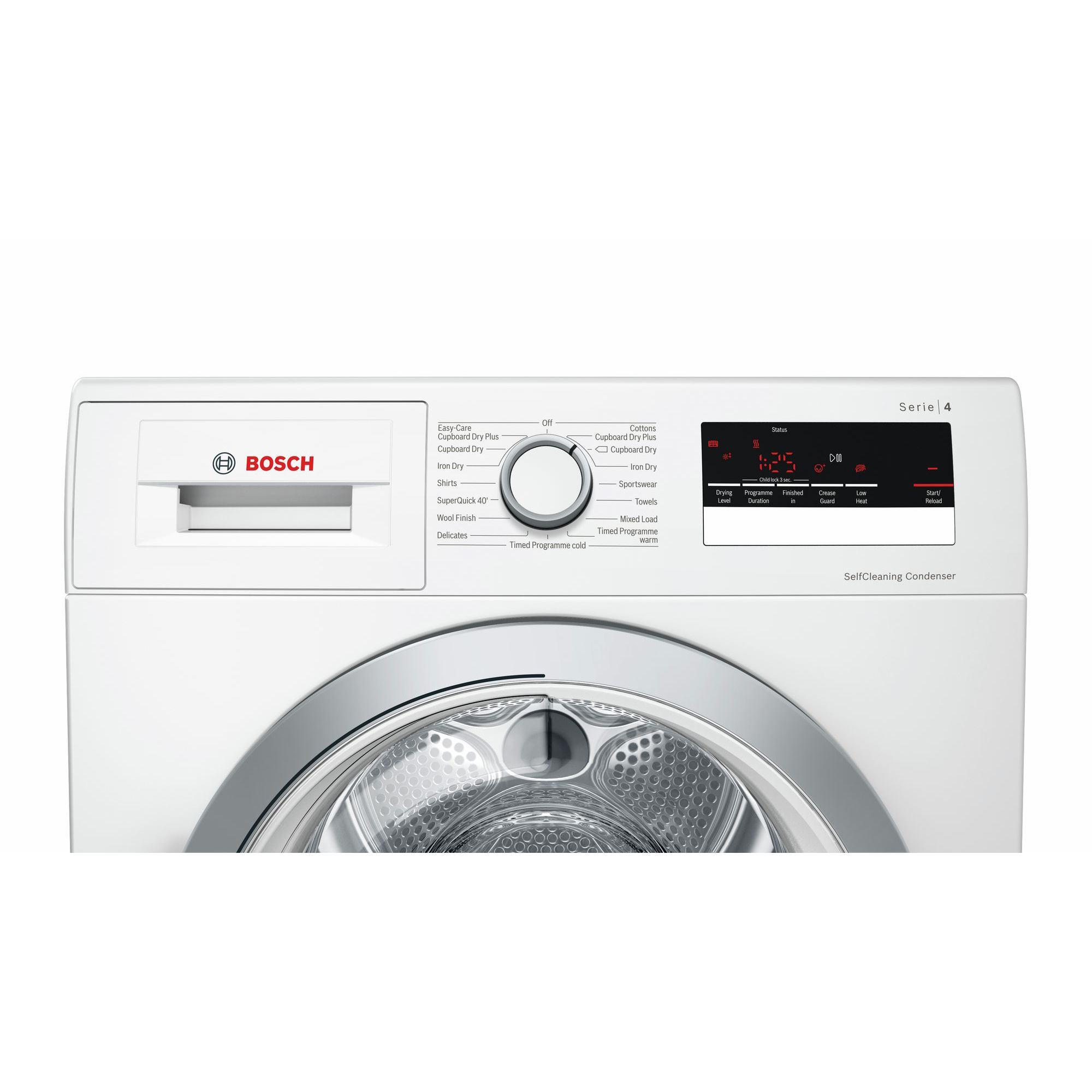 Bosch WTW85231 A++ Rated 8kg Heat Pump Condenser Dryer