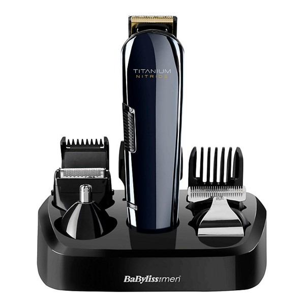 Compare cheap offers & prices of Babyliss 7427U Titanium Nitride Grooming Kit with Accessories manufactured by Babyliss